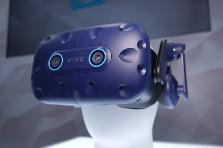 HTC Vive Pro Eye – Hands On at CES 2019