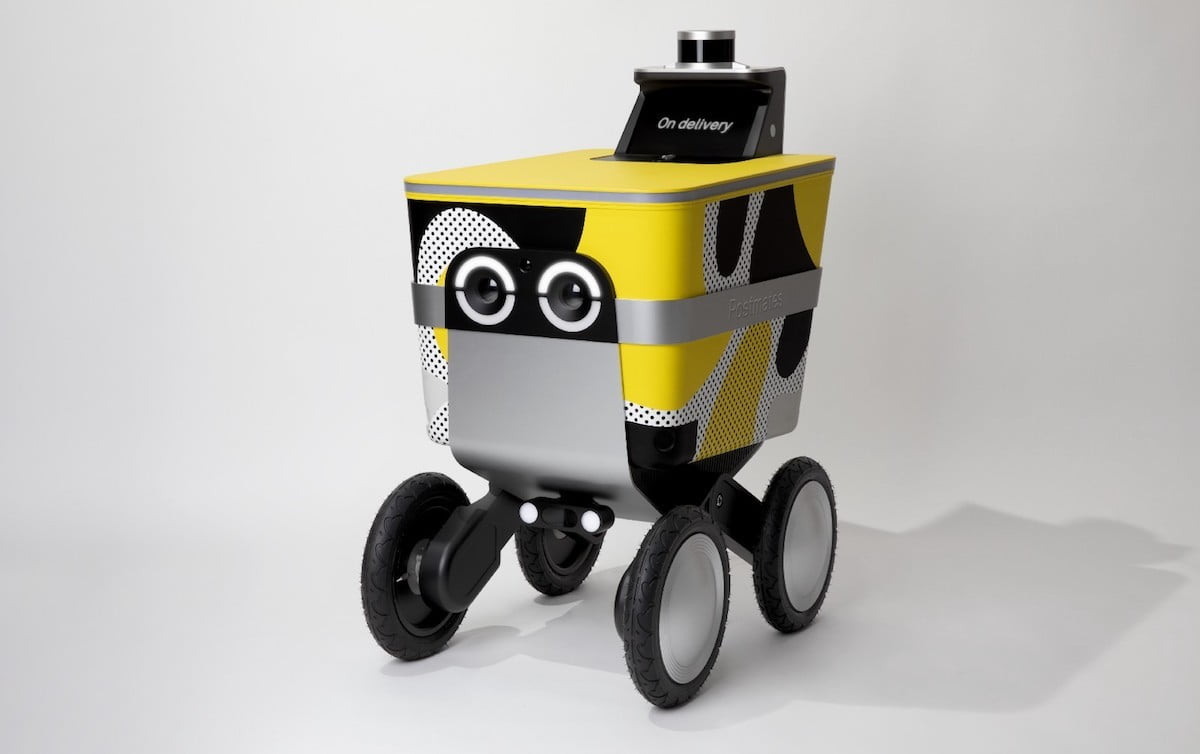 Postmates to roll out Minion-like autonomous delivery robots in 2019