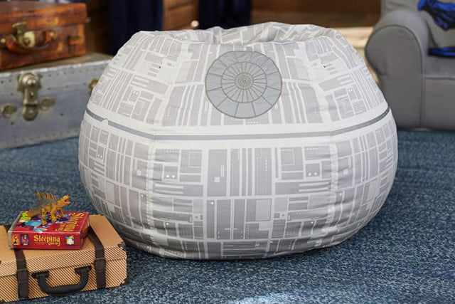 pottery barn has a 4000 star wars bed for sale  death beanbag 149