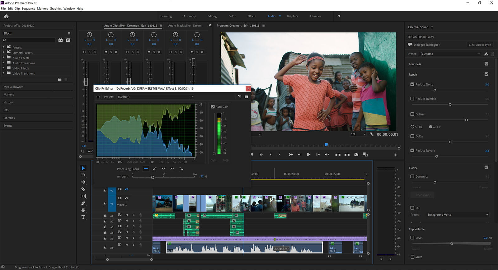 with a i adobe premiere pro streamlines tedious audio cleanup