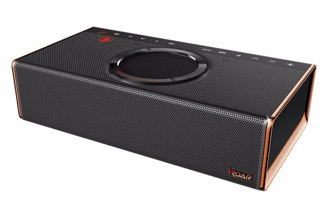 creative unveils iroar the most intelligent bluetooth speaker on planet product left angle