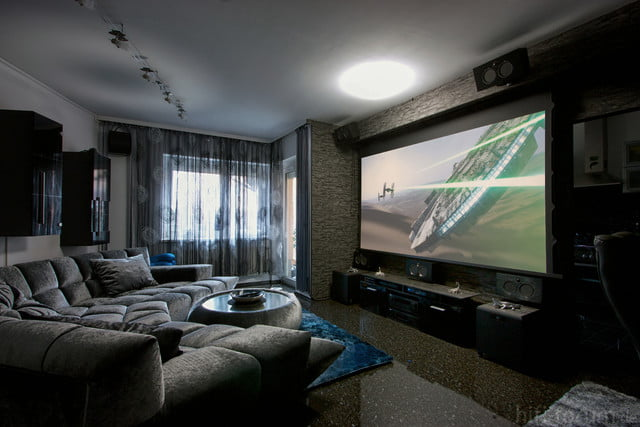 home theater hd projector. tv vs projector home theater hd t