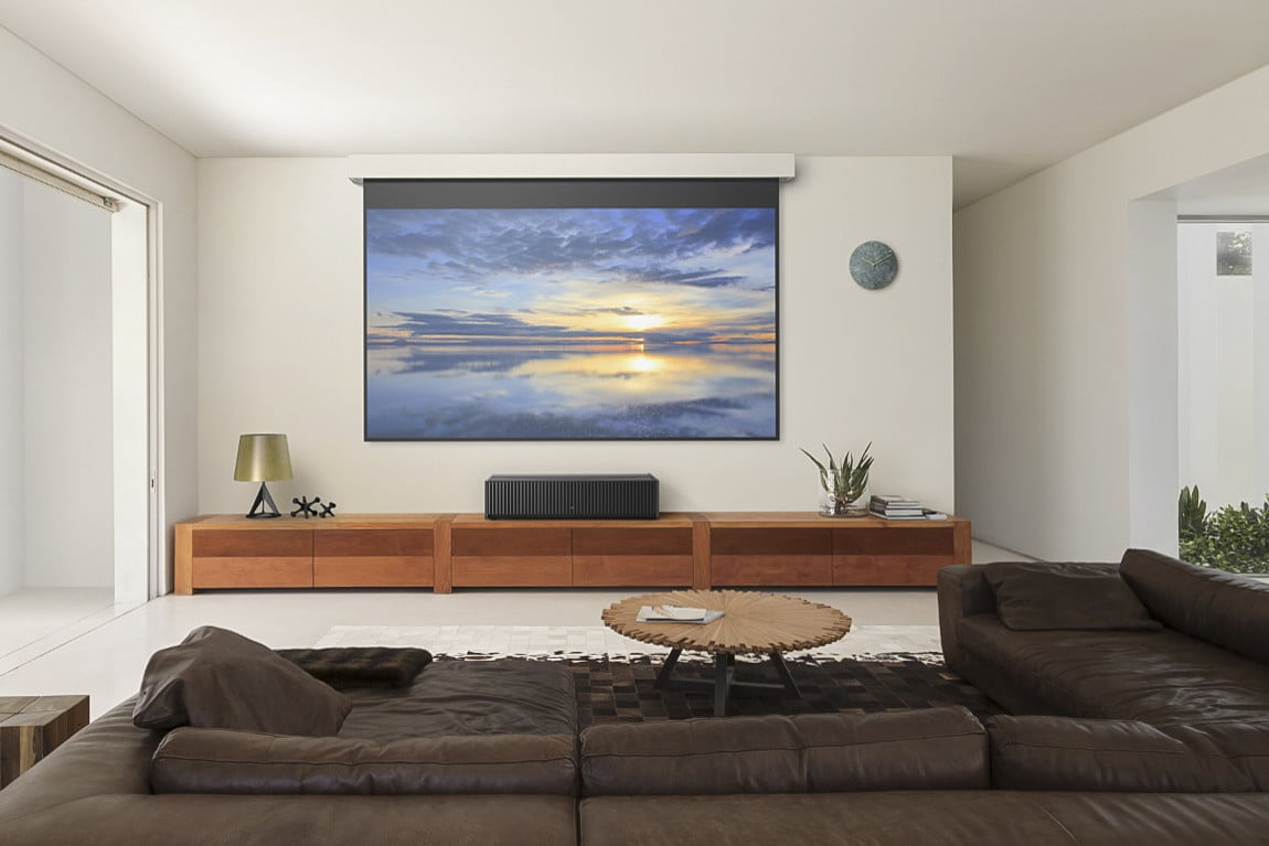 Projectors vs tvs which is best for your home theater - What size tv to get for living room ...