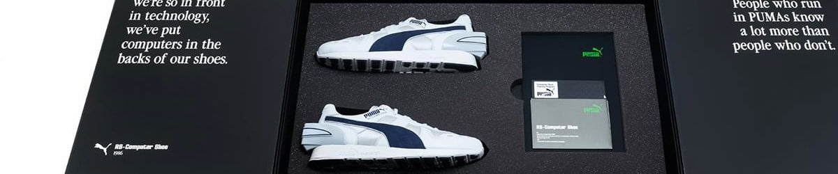 Puma revives its classic 1986 smart shoe, complete with high-tech heel hump