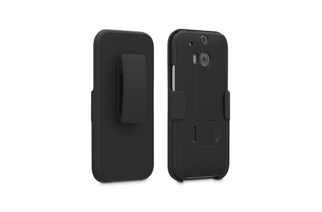 best htc one m8 cases puregear kickstand holster case