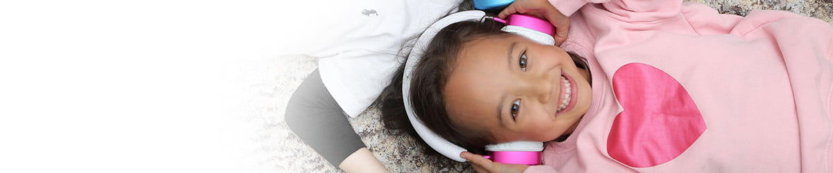 These ingenious headphones protect kids from obliterating their eardrums
