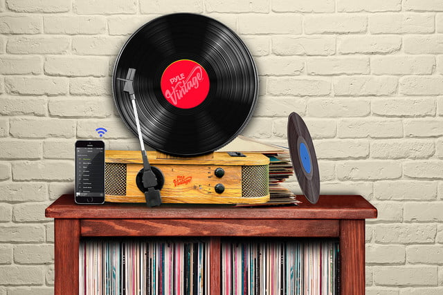 Pyle Usa Unveils Stylish New Bluetooth Vertical Turntable