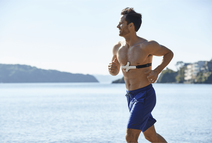 Monitor your heart's health on your smartphone with QardioCore app and strap