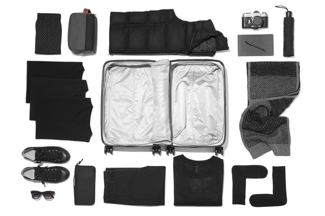 raden smart luggage a22 carry pack black 01