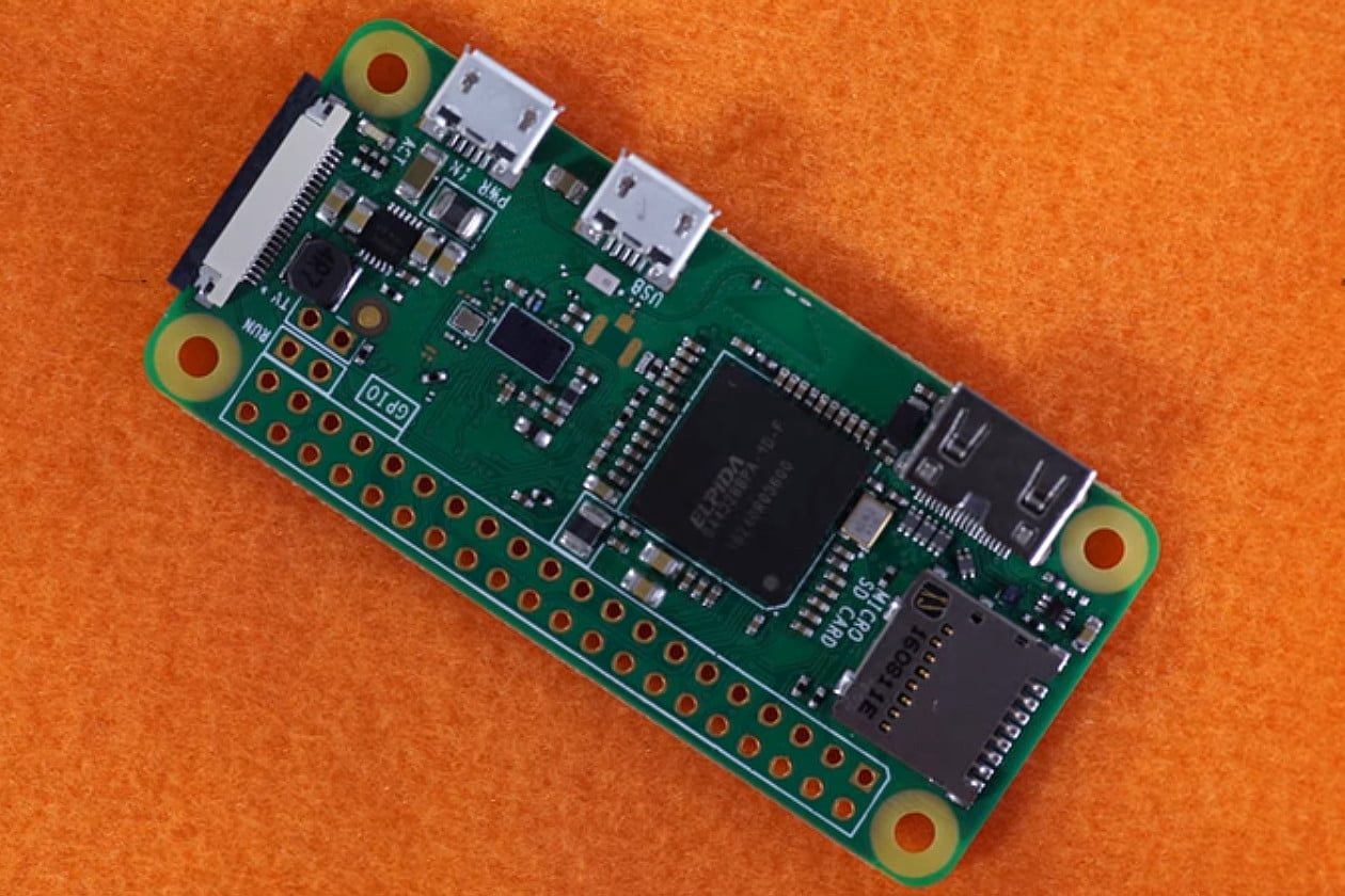 The Tiny Little Raspberry Pi Zero PC Board Gets An Upgrade With