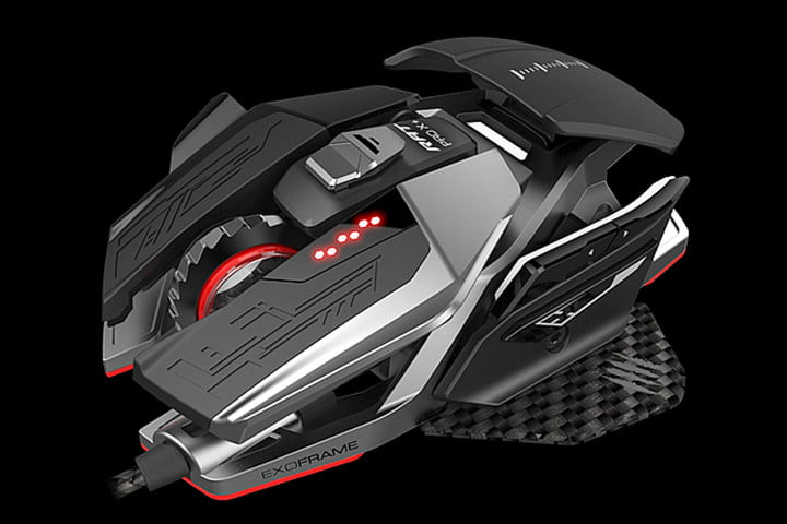 After six years, Mad Catz will give its 'RAT' lineup of PC gaming mice a new face-lift