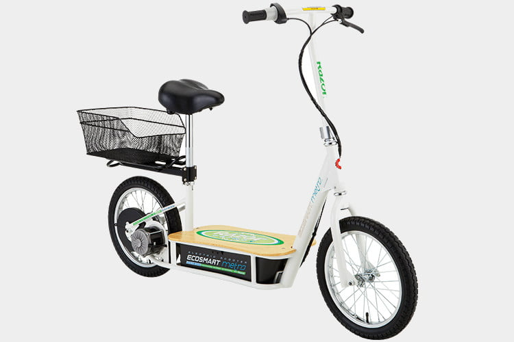 The Ecosmart Metro Electric Scooter Is A Refined Practical Version Of First Generation Razor Released Last Year Recent Price Cuts Have Brought It