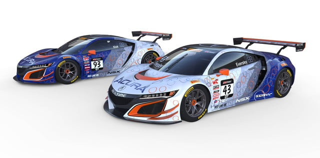 Acura NSX GT3 In the Pirelli World Challenge | Livery, News ... on