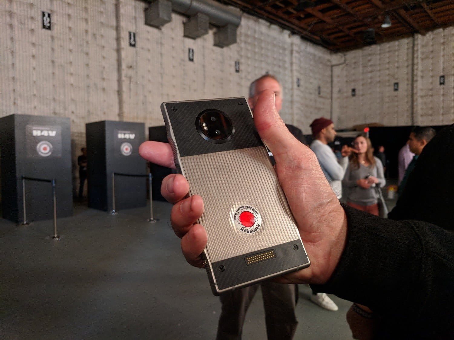 Red Hydrogen One Android Smartphone Hands On Preview