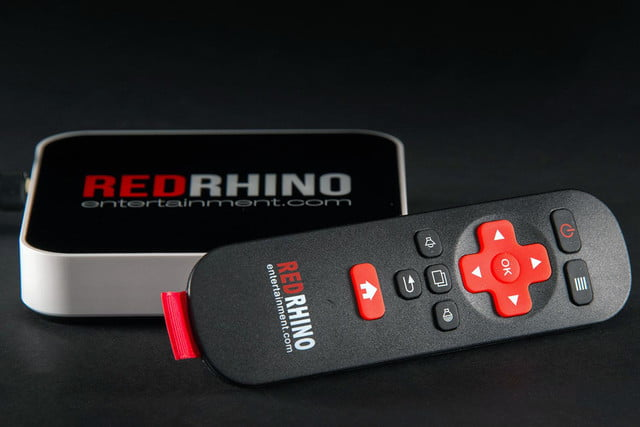 Red Rhino remote and top