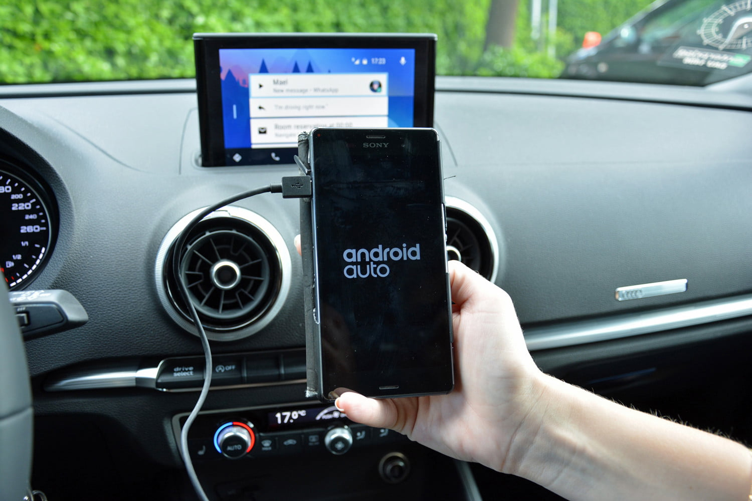 What Is Android Auto Features Functions Compatible Cars Wiring Car Audio Monitor Digital Trends