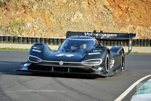 Volkswagen Builds A Batmobile Like Electric Race Car To Settle An Old Score