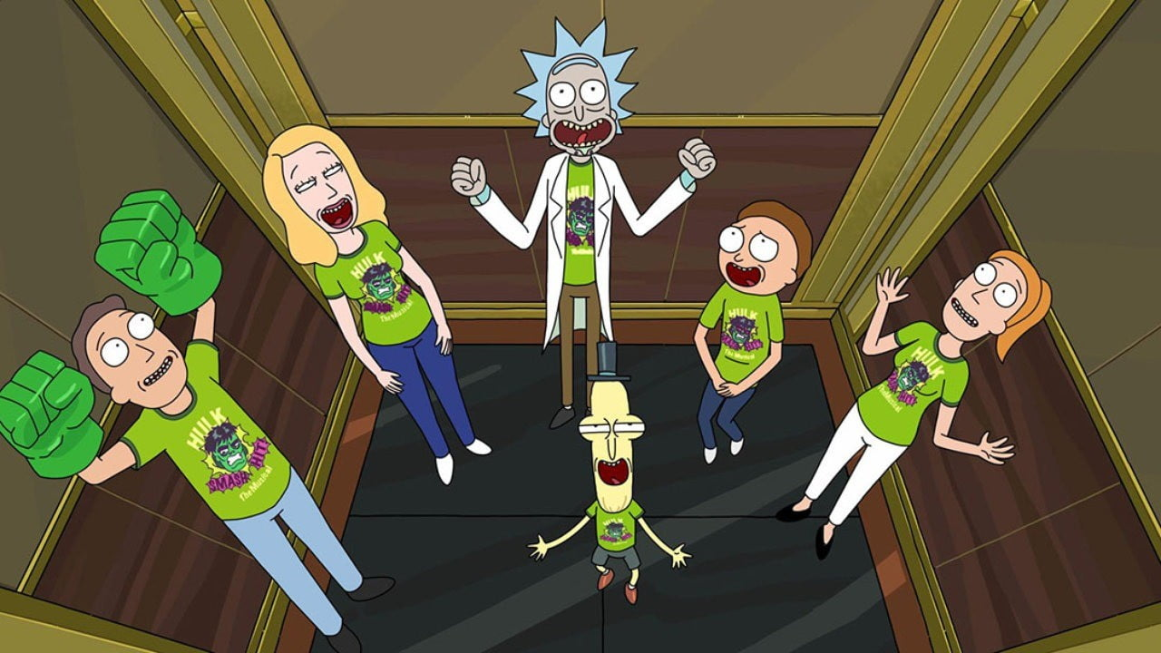 Rick And Morty Cast And Creators Get Silly And Tipsy At Comic Con