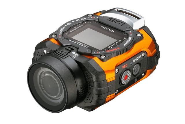 ricoh unveils its first action camera wg m1 5