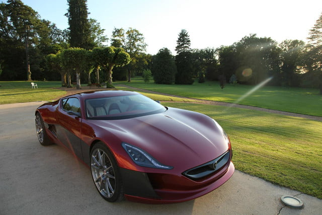pioneering ev super car rimac secures investors 1088 hp concept one 5