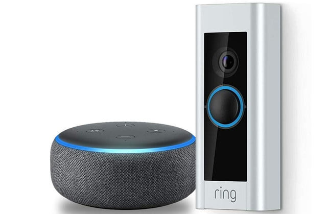 amazon drops early prime day 2019 deal on ring video doorbell pro with echo dot  3rd gen 1