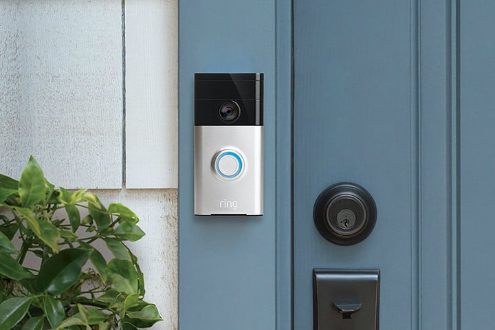 Ring Wi-Fi Enabled Video Doorbell smart home devices