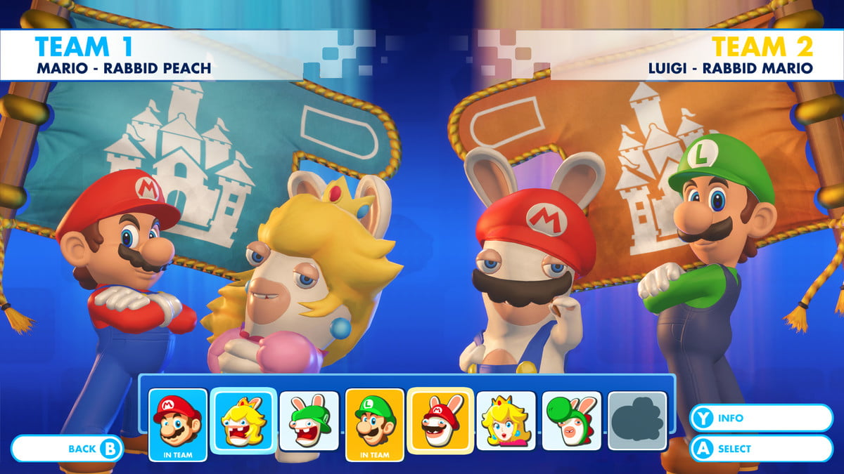 how mario kart inspired rabbids interview rkb sc 22 menu coop selection 1501290372