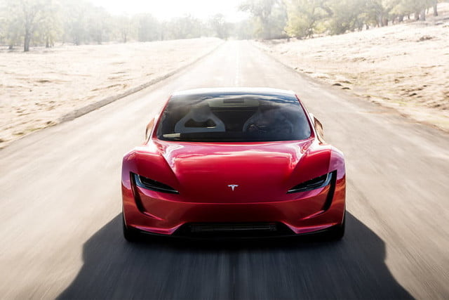 tesla roadster pictures front profile 2