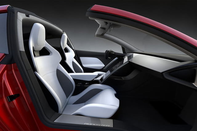 tesla roadster pictures interior 2