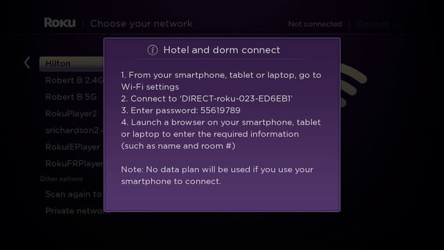 roku 4 news specs price hotel and dorm connect