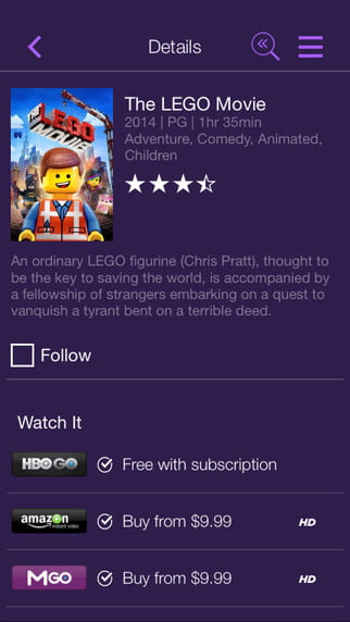 2016 roku streaming stick ios app screen4
