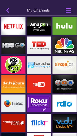 2016 roku streaming stick ios app screen5