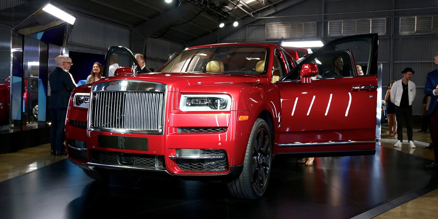 Up close with Rolls Royce's tradition-smashing SUV, the Cullinan