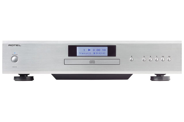 rotel introduces 14 series amplifiers cd player cd14 1