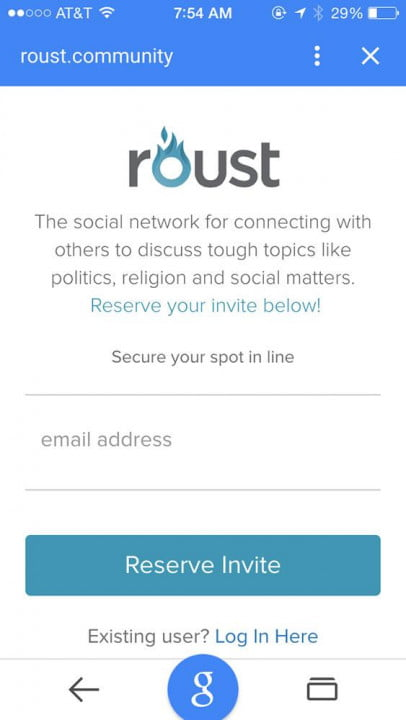 roust social network news and interview mobile screenshot 6