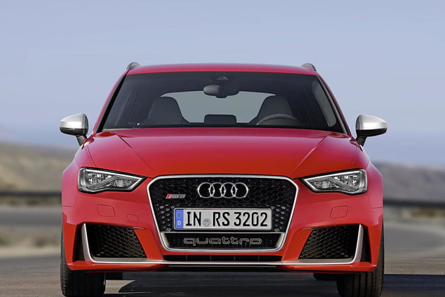 Audi RS Sportback Official Pictures And Specs Digital - Audi official