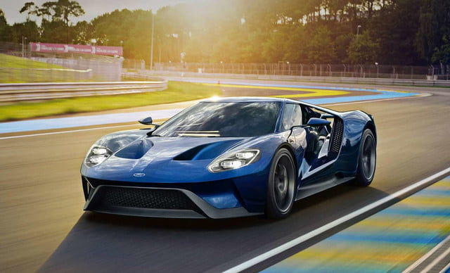 2017 Ford Gt Will Sport Carbon Fiber Wheels To Match Its Lightweight Body