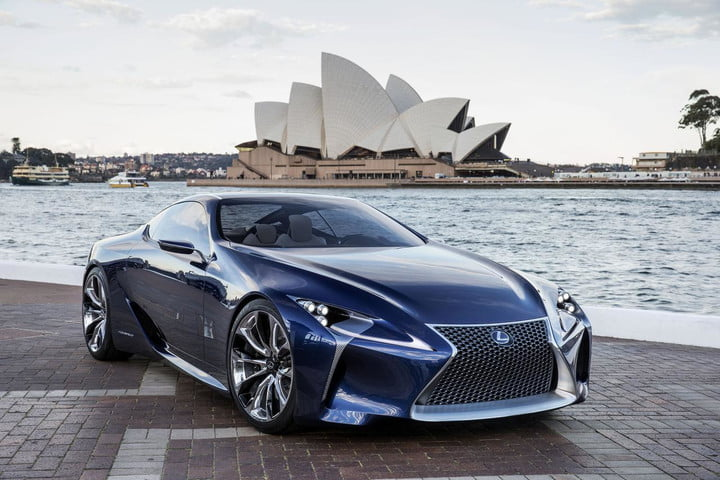 Average Mom Car 2017 Lexus Sc Will Based Lf Lc Concept Rsz Blue 001