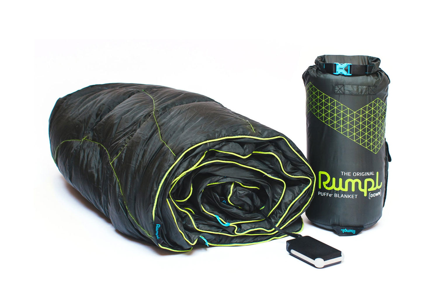 Stay warm in the wild with Rumpl's portable electric blanket