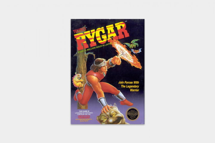 best nes games ever rygar cover