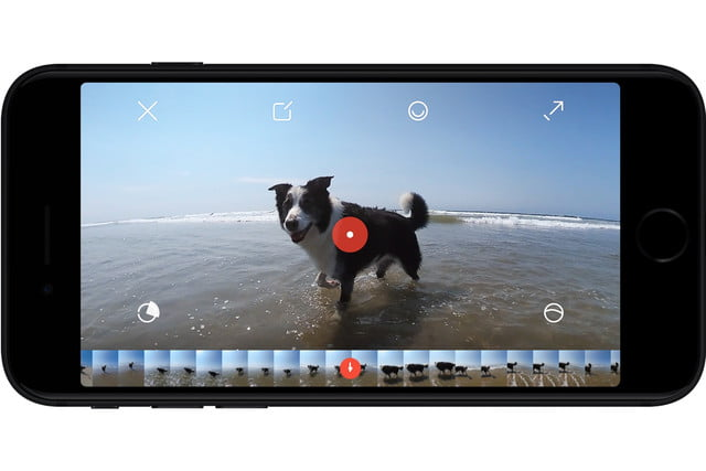 rylo 360 camera announced app points
