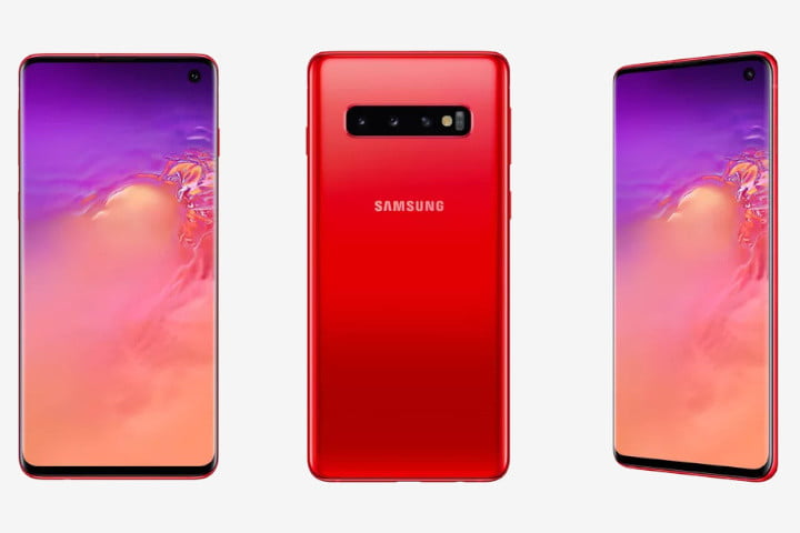 samsung galaxy s10 news and rumors in cardinal red