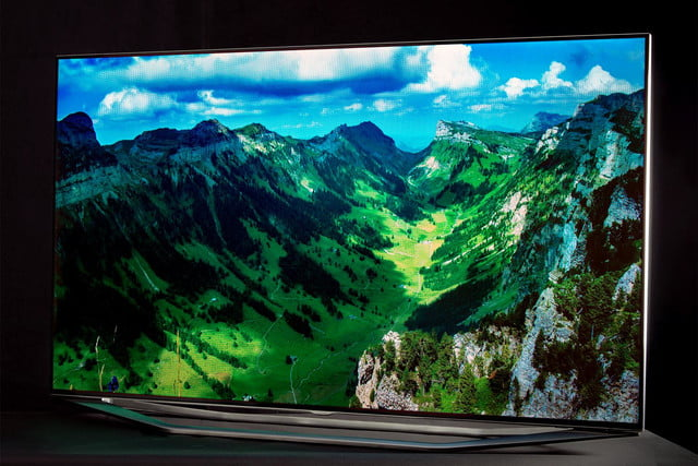 Samsung 7150 HDTV review angle