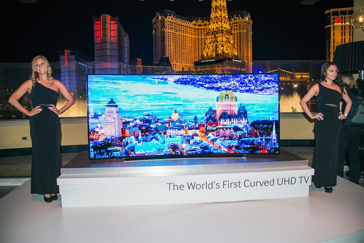 Samsung Prices 105 Inch Curved 219 Ultra Hd Tv At 120000