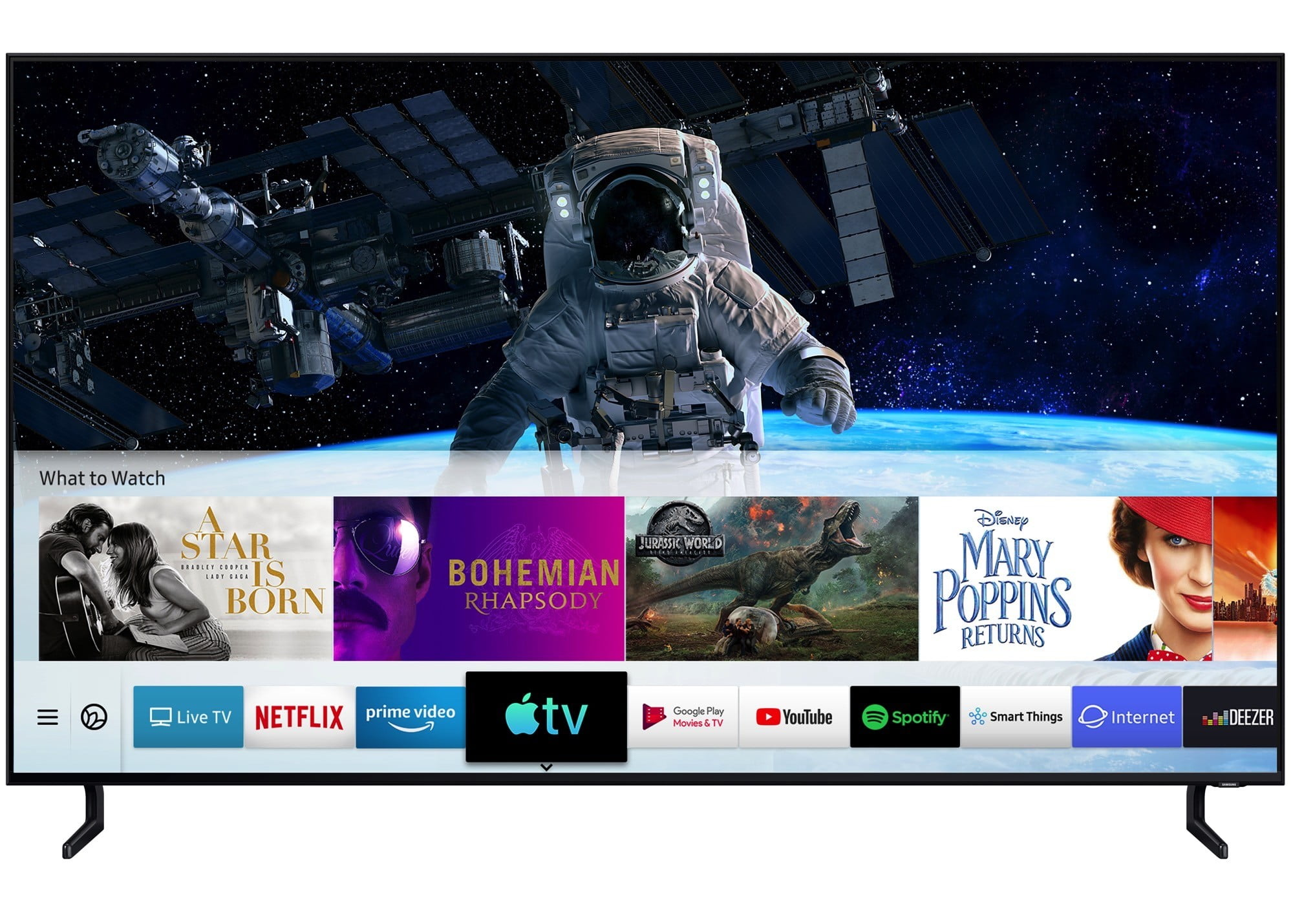 Samsung's TVs Are First to Get AirPlay 2, Apple TV App, And iTunes
