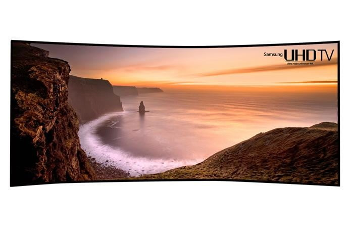 Samsung Answers Back With Its Own 105 Inch Curved 4k Tv Digital Trends