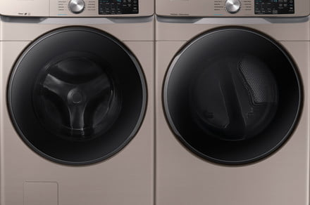 Say so long to silver. Samsung brings new colors to household appliances
