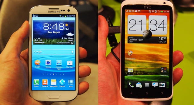 Samsung Galaxy S3 and HTC One X -- LCD vs AMOLED comparison