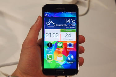 Galaxy S5 has 'best smartphone display' ever, according to analysis