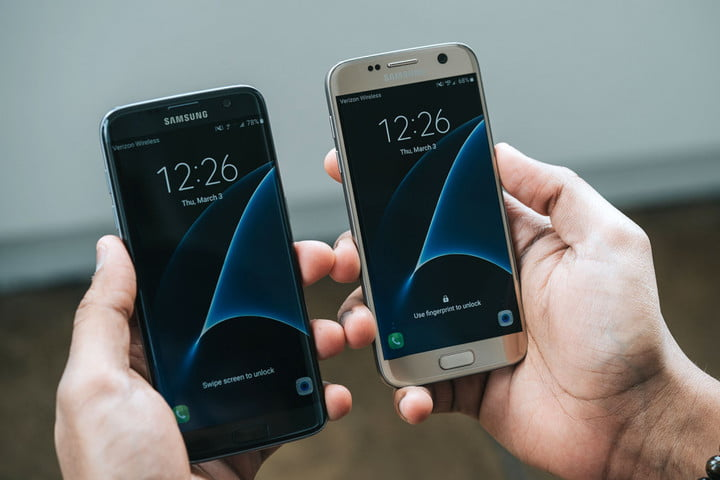 How to change your password on samsung s7